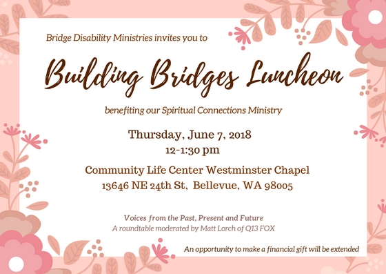 building bridges luncheon june 7 2018 bridge ministries