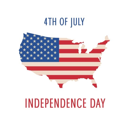 4th-of-July-Independence-Day-Poster-with-USA-Map-and-Flag-Vector ...